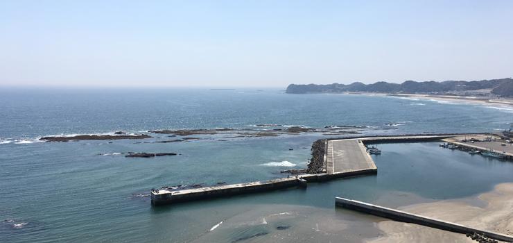 塩屋崎・小名浜方面