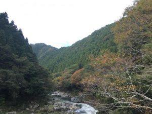 龍神峡の紅葉