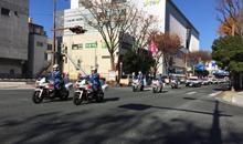 交通安全パレード