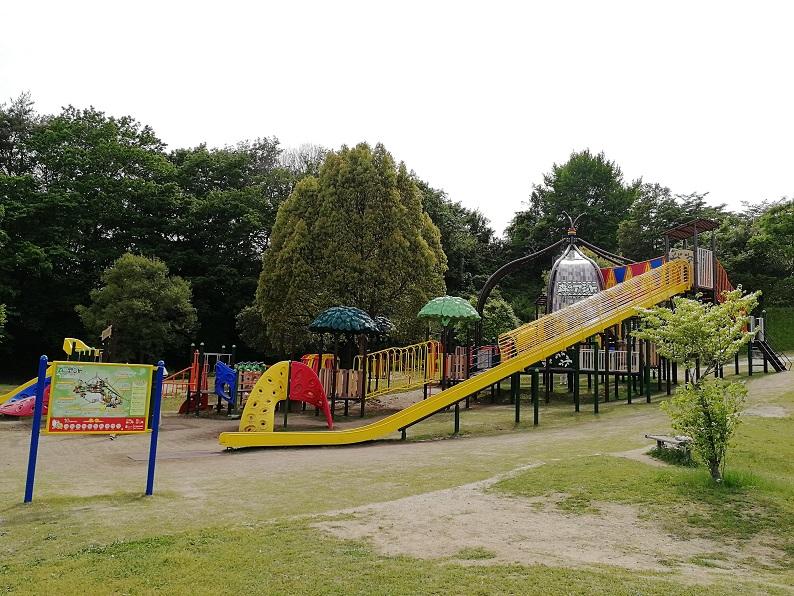 21世紀の森公園・新遊具